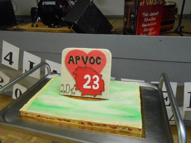 L'APVOC 23 A FÊTÉ SES 20 ANS.